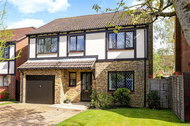Thumbnail Detached house for sale in Chalcraft Close, Liphook, Hampshire