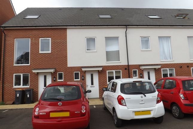 Thumbnail Terraced house to rent in Pattern Close, Bedford