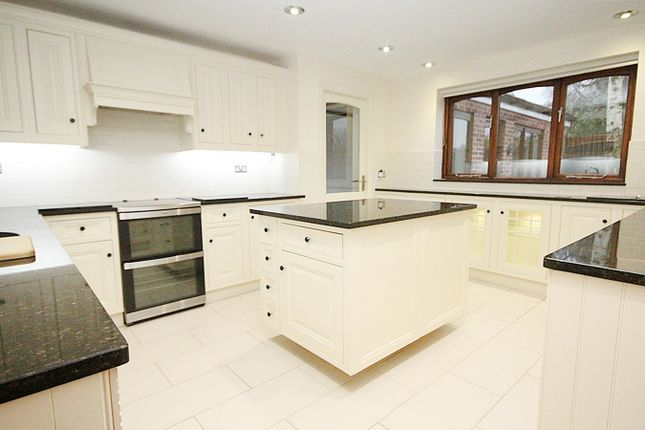 Thumbnail Detached house to rent in Higher Lane, Lymm, Warrington