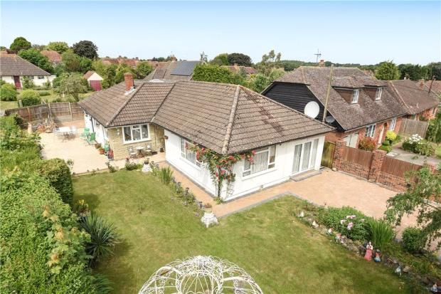 Thumbnail Detached bungalow for sale in Manor Road, Sherborne St. John, Basingstoke