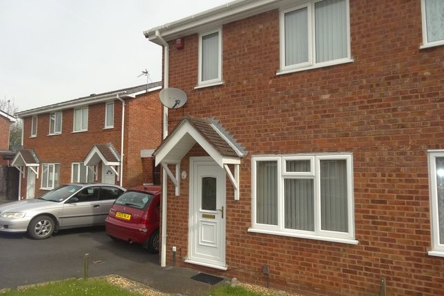 2 bed semi-detached house to rent in Lawford Close, Telford TF4