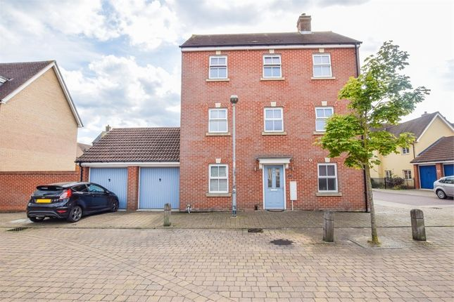 Thumbnail Town house for sale in John Mace Road, Colchester, Essex