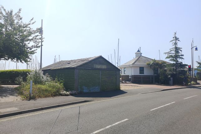 The Boat Shed of Rampart Row, Gosport PO12