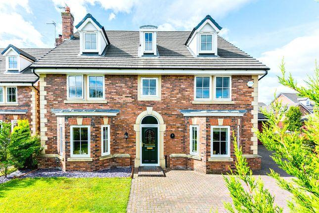 Thumbnail Detached house for sale in Gleneagles Drive, Brockhall Village, Blackburn