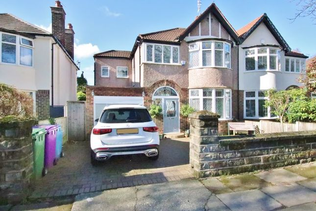 4 bed semi-detached house for sale in Cooper Avenue South, Liverpool L19