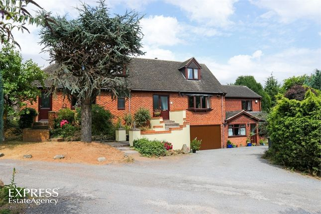 Thumbnail Detached house for sale in Quarry Hill, Wilnecote, Tamworth, Staffordshire