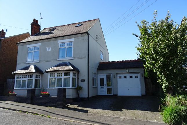 Thumbnail Detached house for sale in Hough Hill, Swannington, Leicestershire