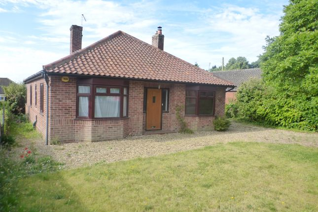 Thumbnail Detached bungalow for sale in Park Road, Spixworth, Norwich
