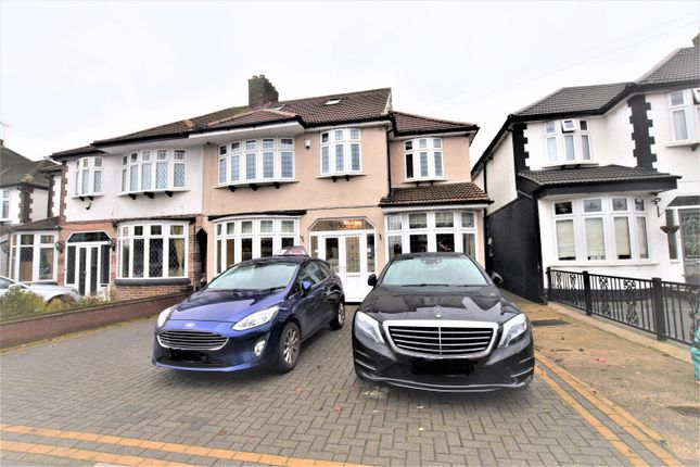 Thumbnail Semi-detached house for sale in Abbotswood Gardens, Clayhall
