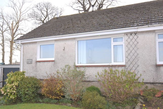 Thumbnail Semi-detached bungalow for sale in 9 Manesty View, Keswick, Cumbria