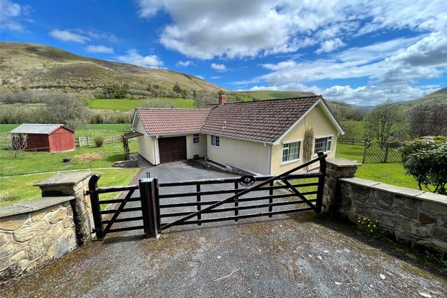 Thumbnail Bungalow for sale in Llangurig, Llanidloes, Powys