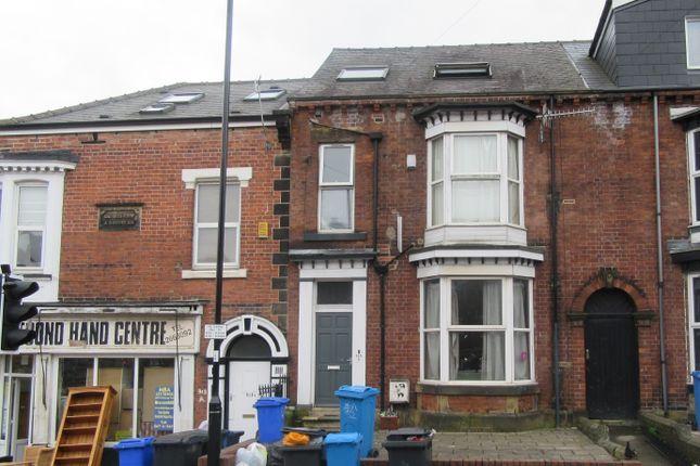 Thumbnail Terraced house to rent in Crookesmoor Road, Crookemoor