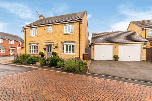 Thumbnail Detached house for sale in Vulcan Close, Melton Mowbray