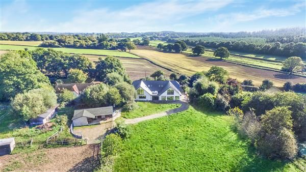 Thumbnail Detached house for sale in Yew Tree Farm, Lopshill, Fordingbridge