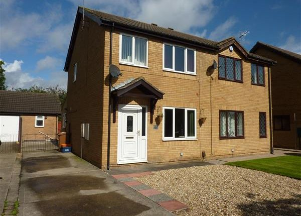 Thumbnail Semi-detached house for sale in Coltsfoot Drive, Waltham, Grimsby