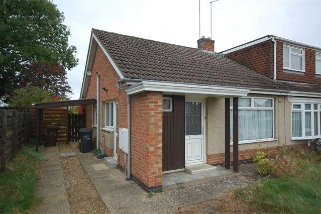 Thumbnail Semi-detached bungalow to rent in Medbourne Close, Moulton, Northampton