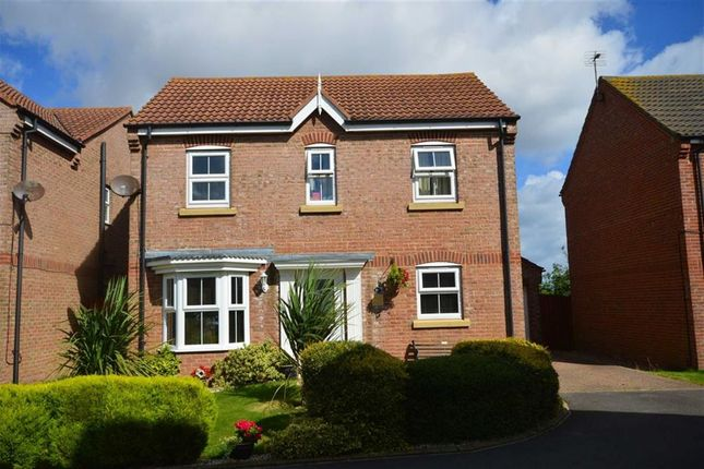 Thumbnail Detached house for sale in Swallow Close, Hornsea, East Yorkshire