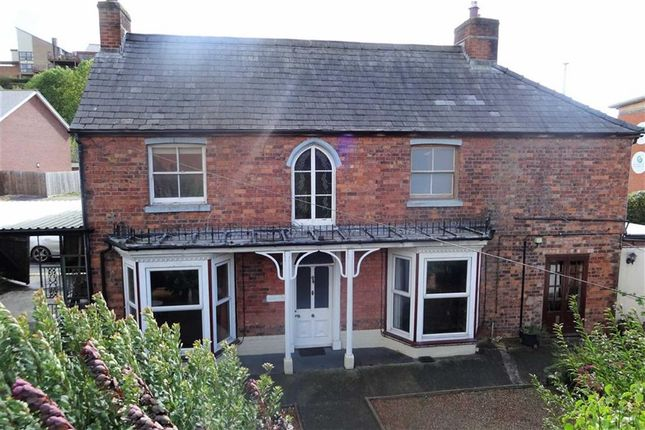Thumbnail Detached house for sale in Vine Villa, New Road, Ffordd Croesawdy, Newtown, Powys