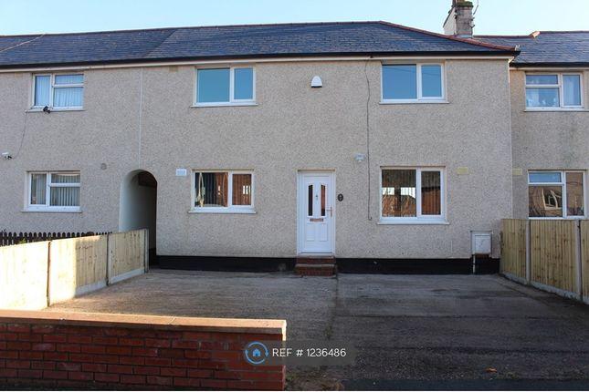 3 bed terraced house to rent in Seventh Av, Wrexham LL12
