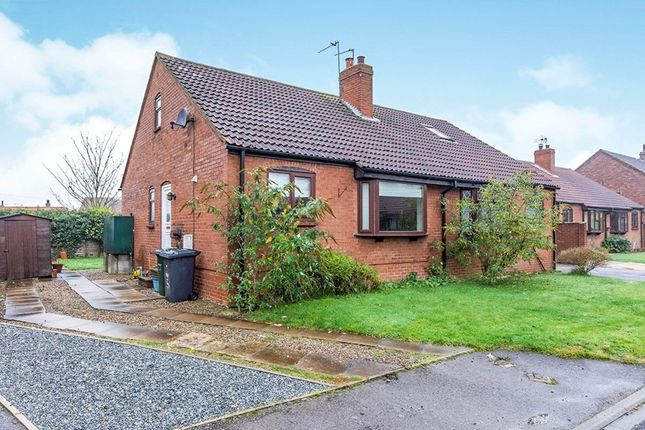 Thumbnail Bungalow to rent in Pasture Close, Wistow, Selby