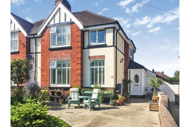 Thumbnail Semi-detached house for sale in Penrhyn Isaf Road, Llandudno