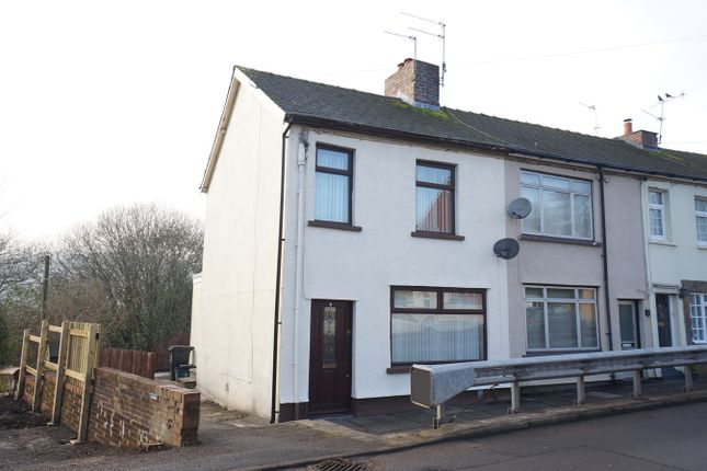 Thumbnail End terrace house for sale in Pontymason Lane, Rogerstone, Newport