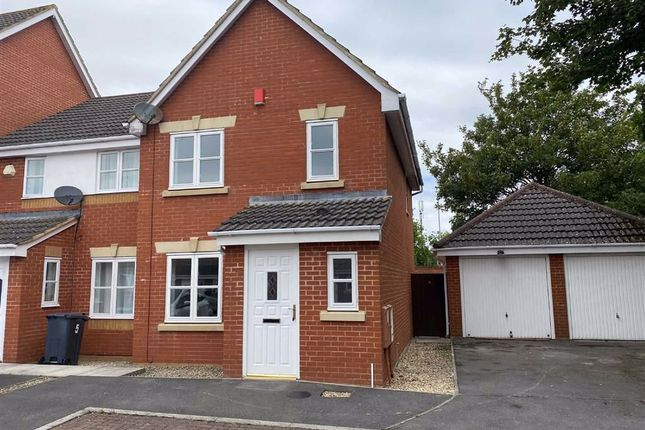 Thumbnail Semi-detached house to rent in Station Walk, Highbridge, Somerset