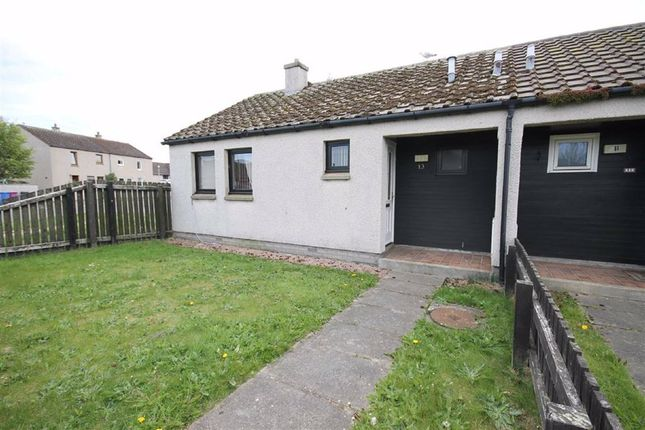 Thumbnail Semi-detached bungalow for sale in Rockall Place, Lossiemouth