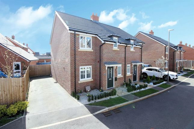 3 bed semi-detached house for sale in Amorosa Gardens, Aylesbury HP18