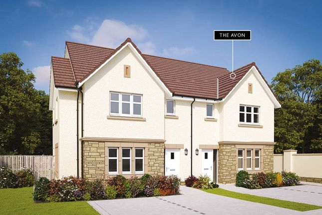 "Thumbnail Semi-detached house for sale in ""The Avon"" at Hutcheon Low Place, Aberdeen"