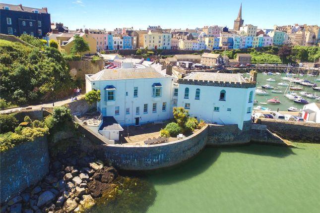 Thumbnail Flat for sale in Garden Flat, Laston House, Castle Square, Tenby