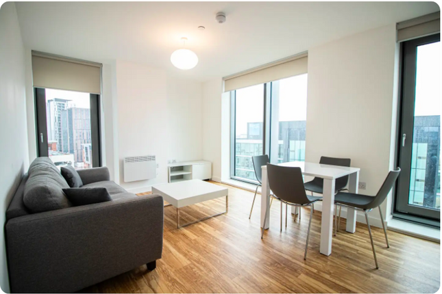 Thumbnail Flat to rent in Michigan Avenue, Manchester