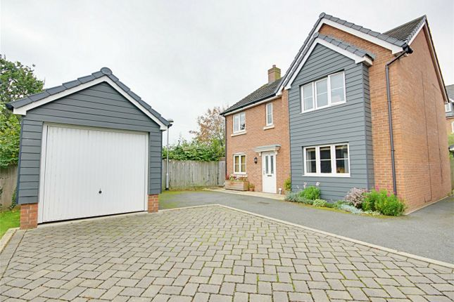 Thumbnail Detached house for sale in Saffron Crescent, Sawbridgeworth, Hertfordshire