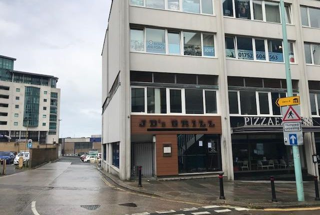 Thumbnail Restaurant/cafe to let in Part Ground & First Floor, Pilgrim House, Derrys Cross, Plymouth