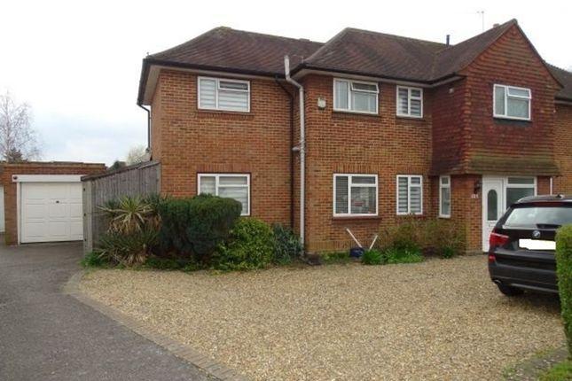 Thumbnail Semi-detached house for sale in Ellington Road, Lower Feltham