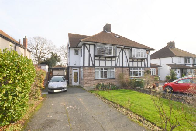 Thumbnail Semi-detached house for sale in Crown Woods Way, London