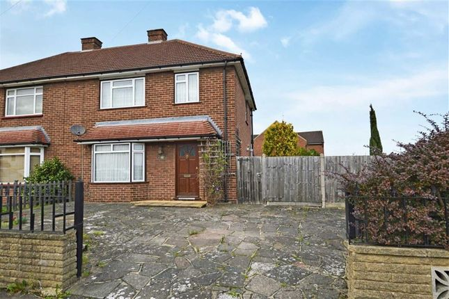 Thumbnail Semi-detached house for sale in Felstead Road, Loughton