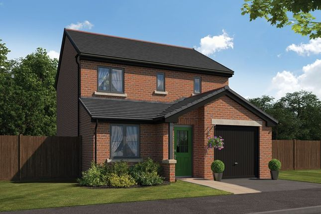 Thumbnail Detached house for sale in Coquet Park, Robson Grove, Felton, Morpeth, Northumberland