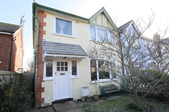 Thumbnail Semi-detached house for sale in Fitzroy Road, Whitstable