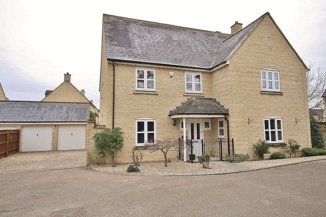Thumbnail Detached house for sale in Cherry Tree Way, Madley Park, Witney