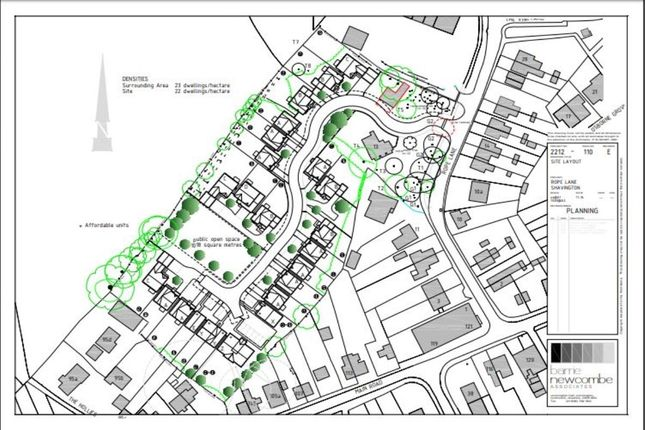 Thumbnail Land for sale in Rope Lane, Shavington, Crewe