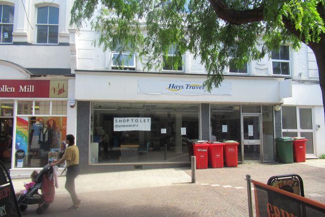 Thumbnail Retail premises to let in Sandgate Road, Folkstone