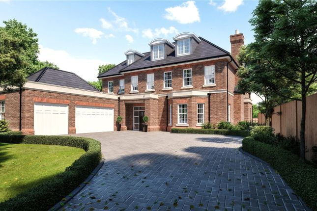 Thumbnail Detached house for sale in Eaton Park Road, Cobham, Surrey