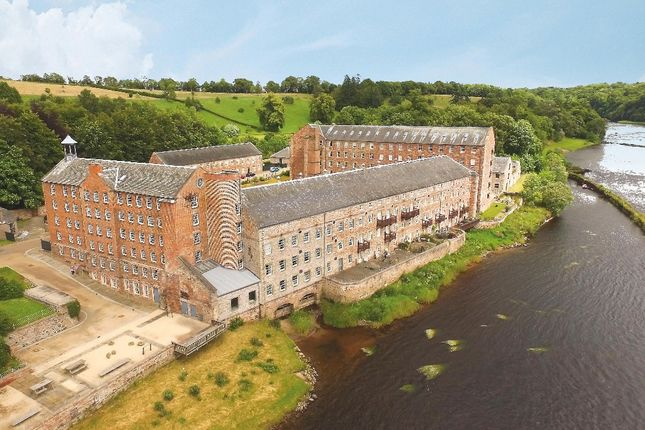 Thumbnail Maisonette for sale in Mill Square, Stanley Mills, Stanley, Perth