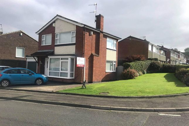Thumbnail Detached house for sale in Dene Crescent, Holburn Dene Estate, Ryton