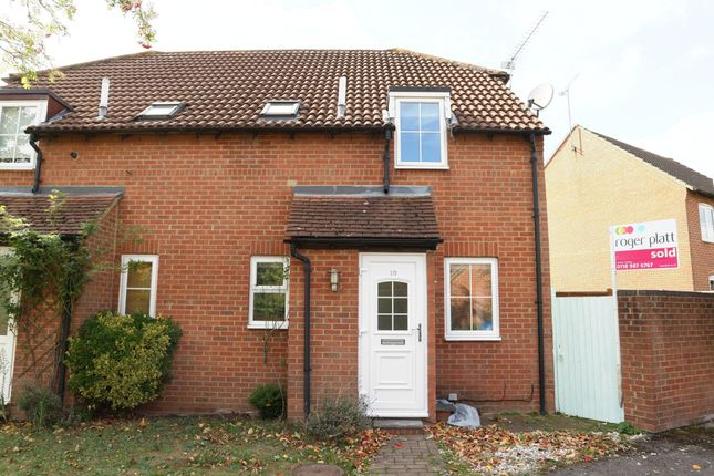 Thumbnail Terraced house to rent in Selsey Way, Lower Earley, Reading