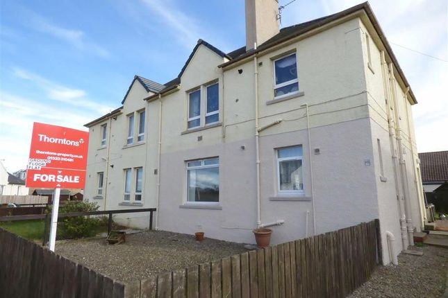 Thumbnail Flat for sale in Gourlay Crescent, St Monans, Fife