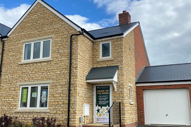 "Thumbnail Semi-detached house for sale in ""The Hatfield"" at Yeovil Road, Sherborne"