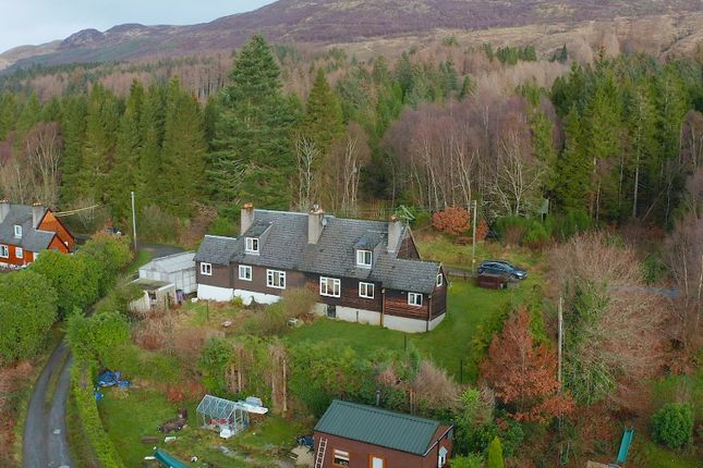Thumbnail Semi-detached house for sale in Forest Cottages, Rowardennan, Stirlingshire