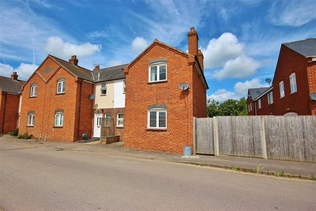 Thumbnail End terrace house to rent in Station Cottages, Challow Station, Faringdon